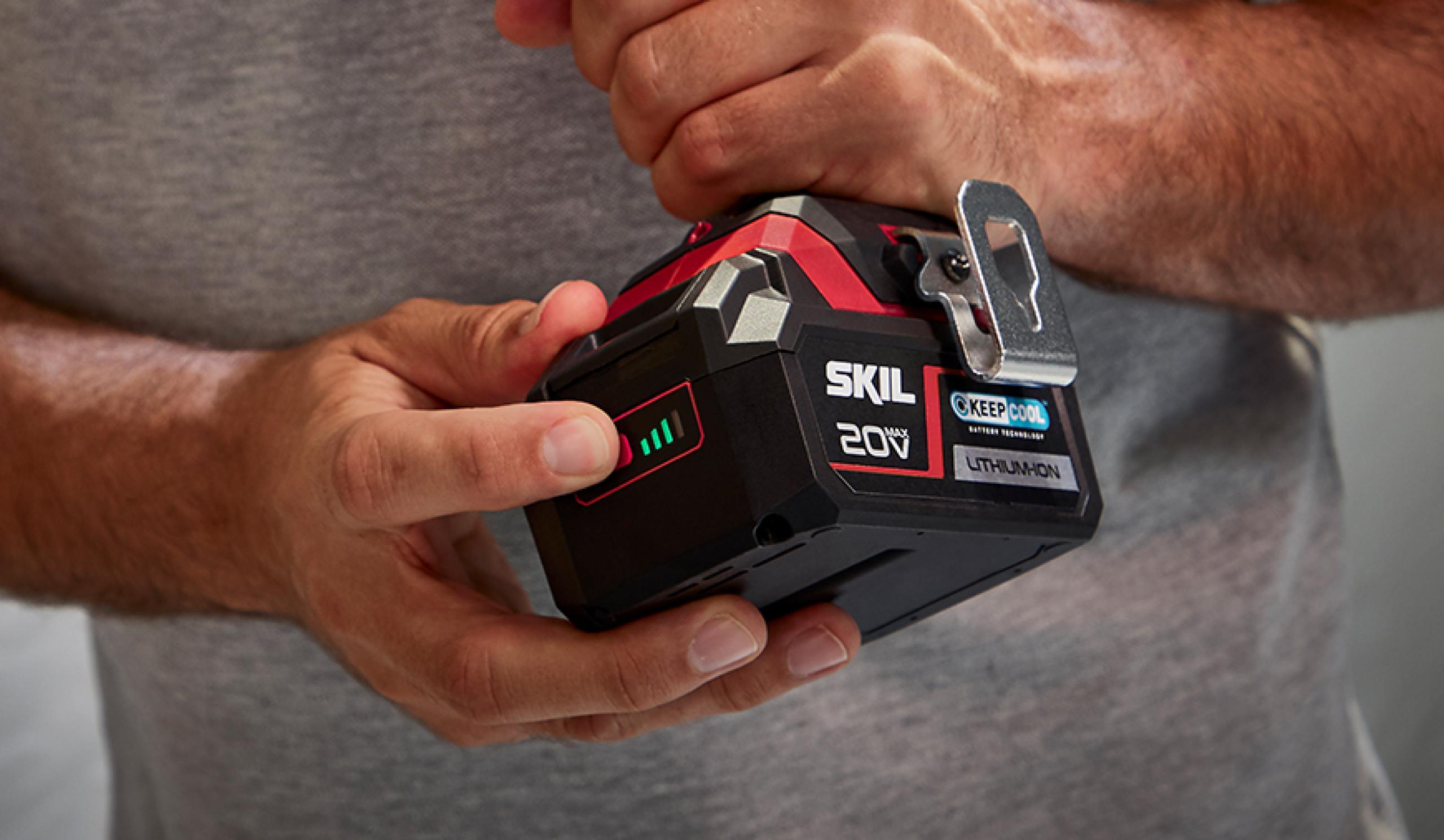 Patentovaný indikátor stavu baterie, kterému můžete věřit