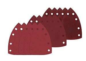 SKIL Sada brusných papírů na suchý zip (102 × 151mm)